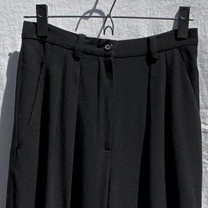 Sz 6 High waisted DKNY 100% Wool pant 90s